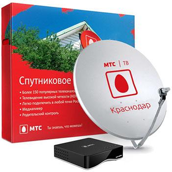 интернет через спутниковую тарелку мтс как подключить